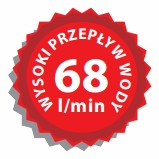 ALCA- syfony 68 l/min